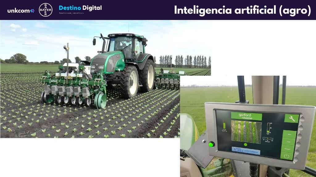 Inteligencia artificial (agro)