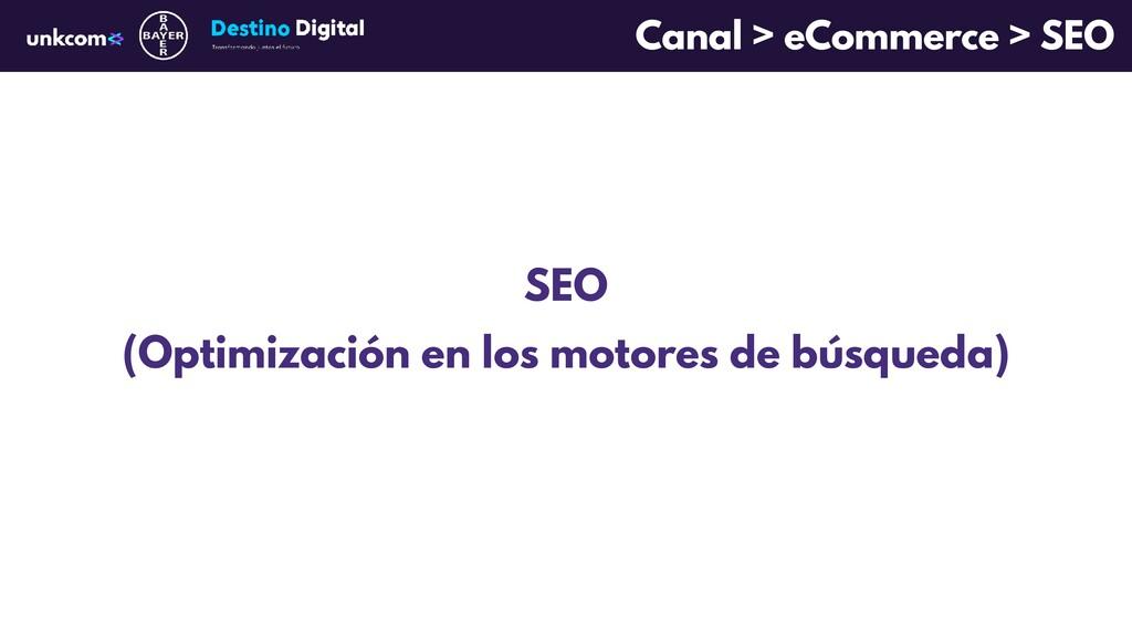 SEO (Optimización en los motores de búsqueda) C...