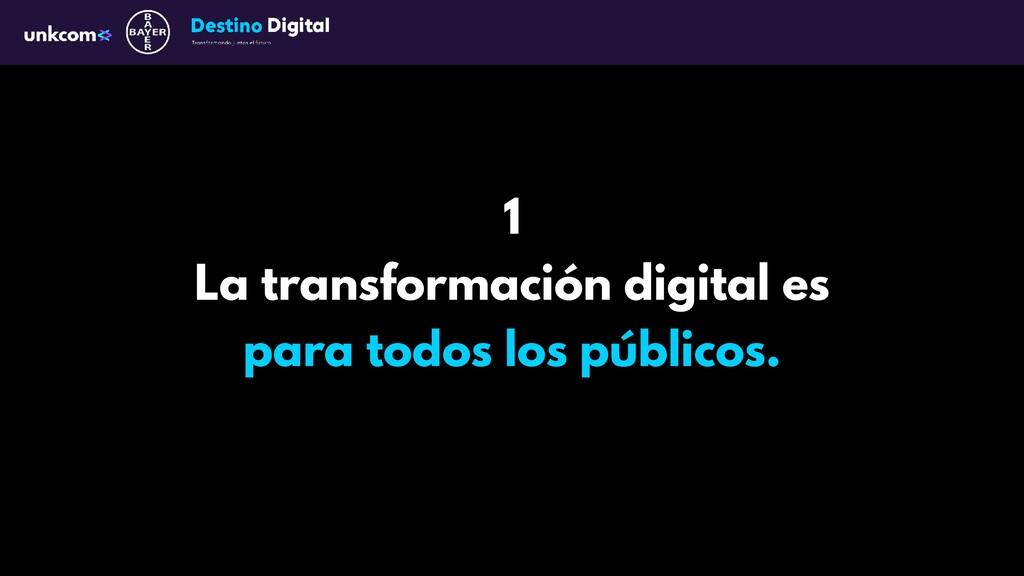 1 La transformación digital es para todos los p...