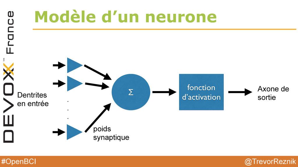@TrevorReznik #OpenBCI Modèle d'un neurone Dent...