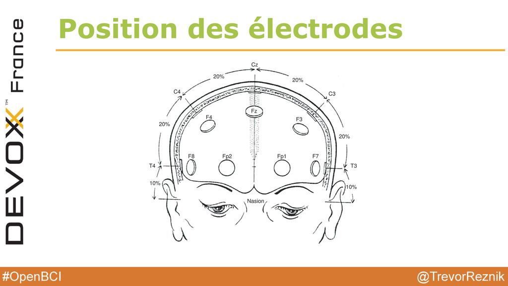 @TrevorReznik #OpenBCI Position des électrodes ...