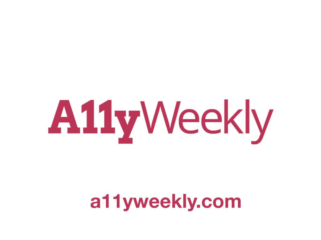 a11yweekly.com