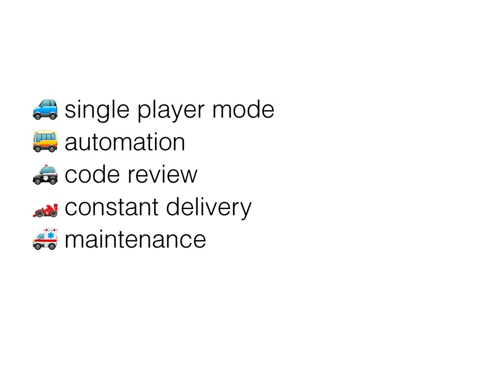 ' single player mode ( automation ) code review...