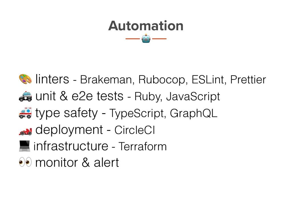 Automation t 2 3 linters - Brakeman, Rubocop, E...