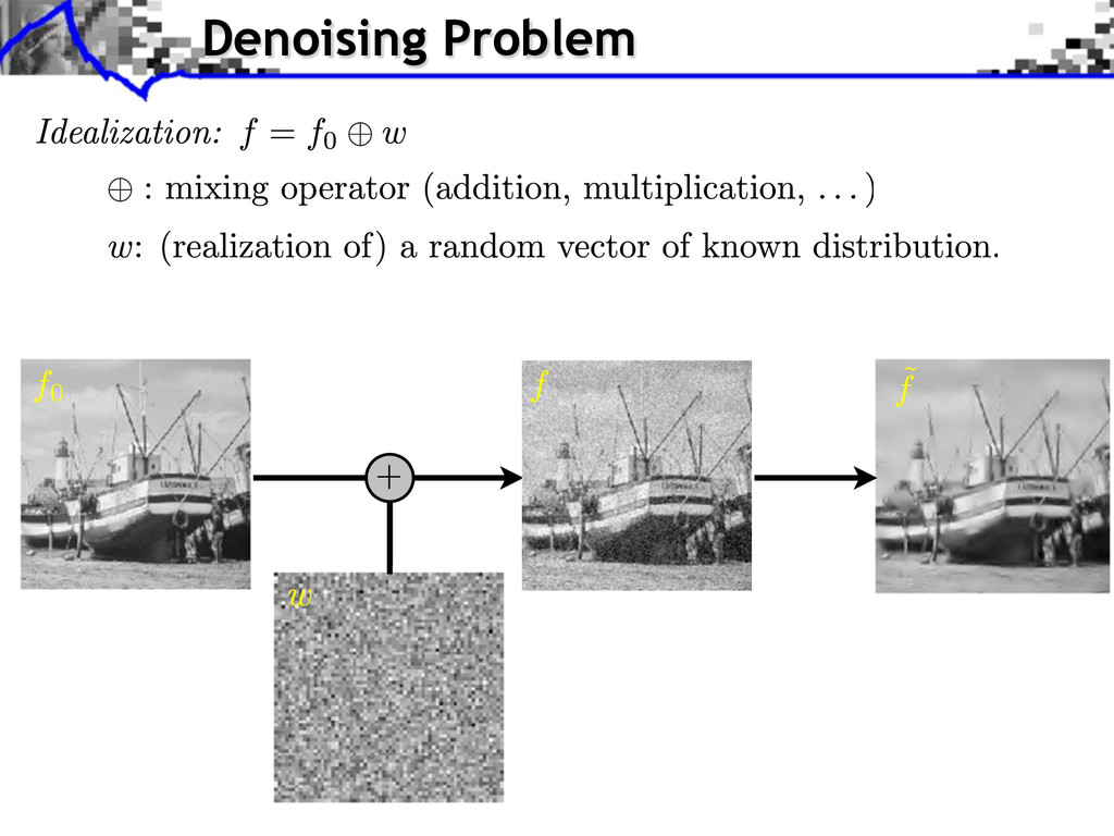Denoising Problem