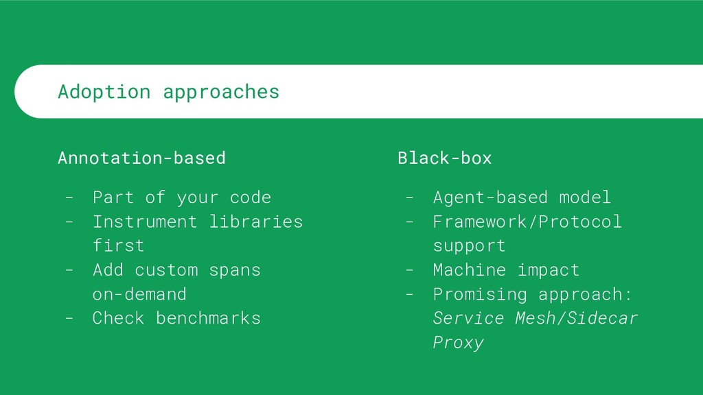 Adoption approaches Annotation-based - Part of ...