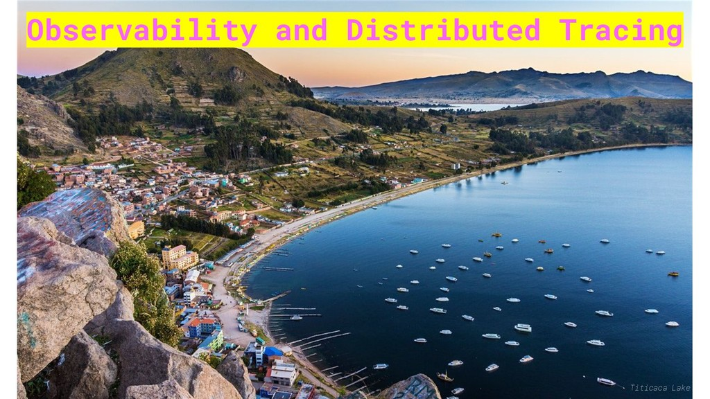 Observability and Distributed Tracing Titicaca ...