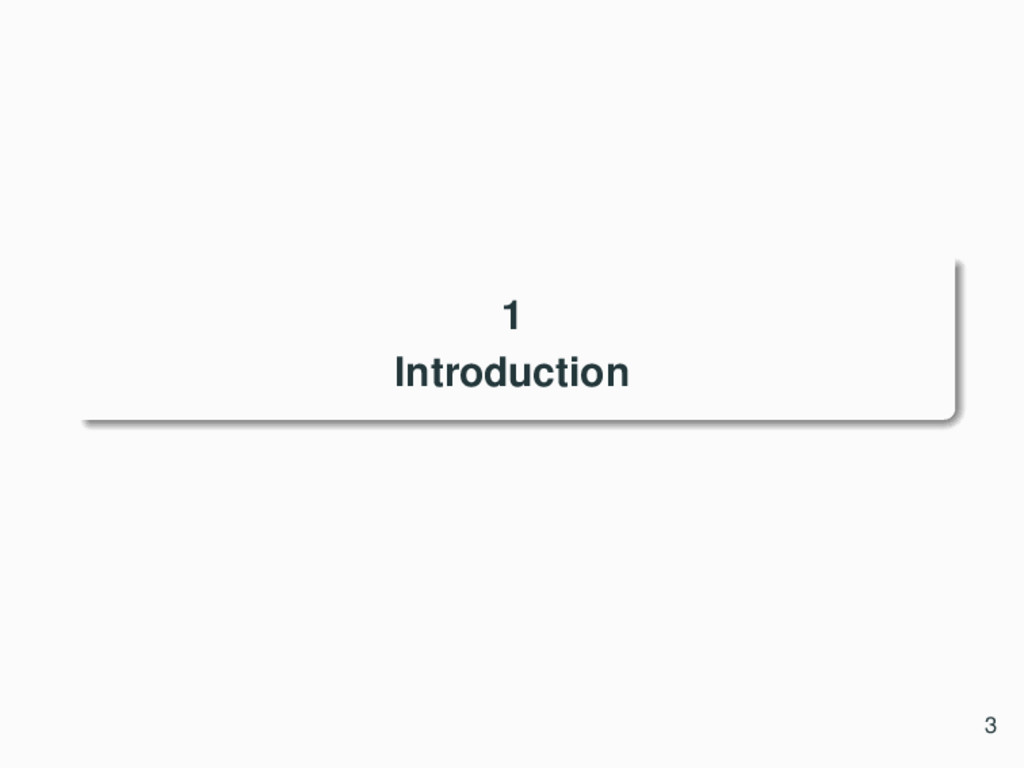 1 Introduction 3