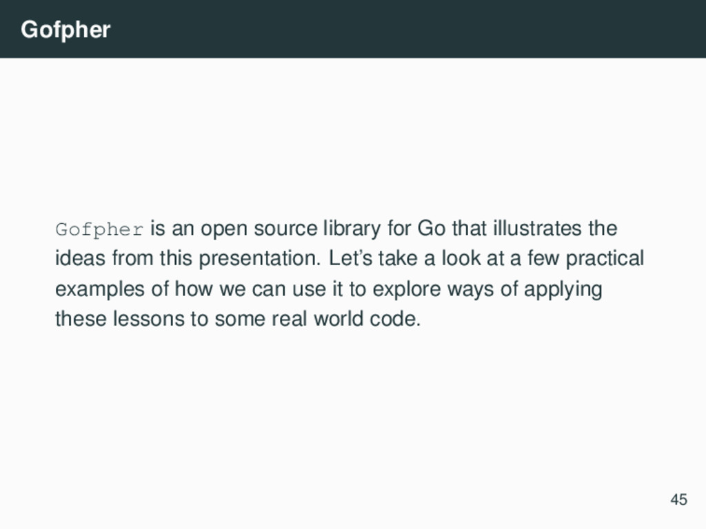 Gofpher Gofpher is an open source library for G...