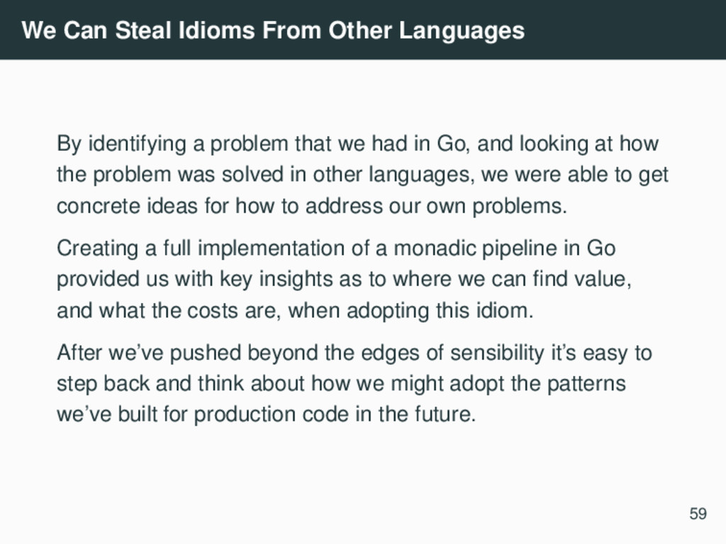 We Can Steal Idioms From Other Languages By ide...