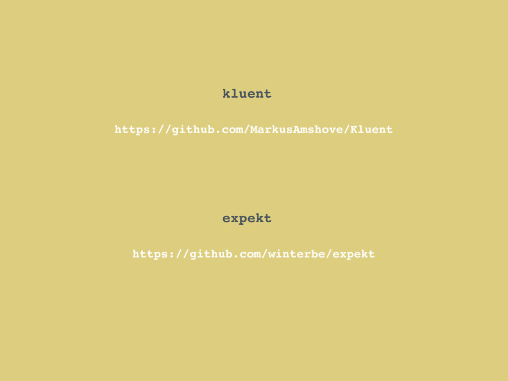 kluent https://github.com/MarkusAmshove/Kluent ...