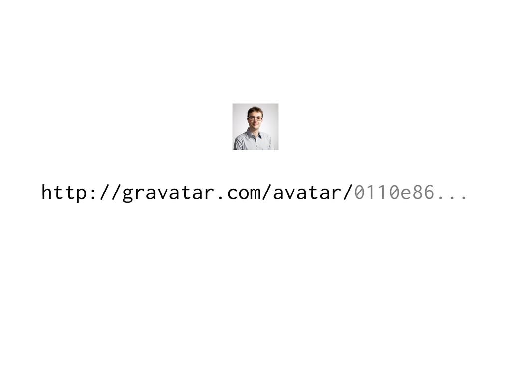 http://gravatar.com/avatar/0110e86...