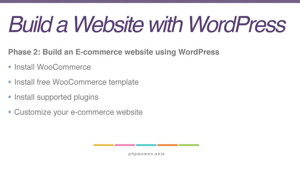 phpwomen.asia Build a Website with WordPress Ph...