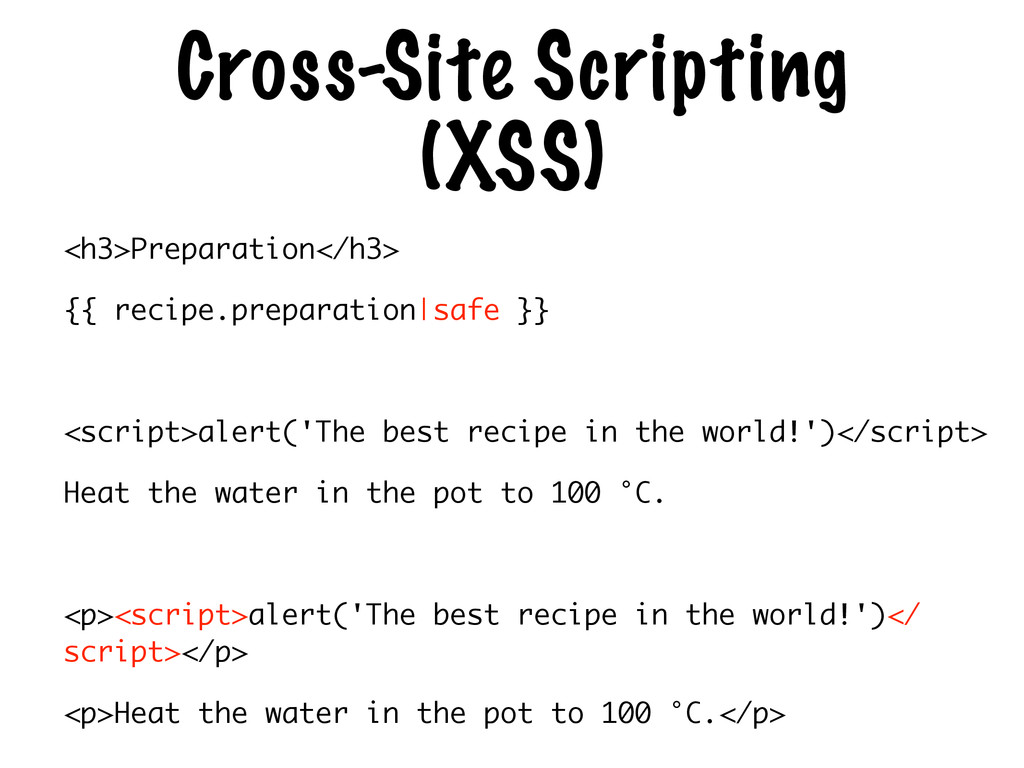 Cross-Site Scripting (XSS) <h3>Preparation</h3>...