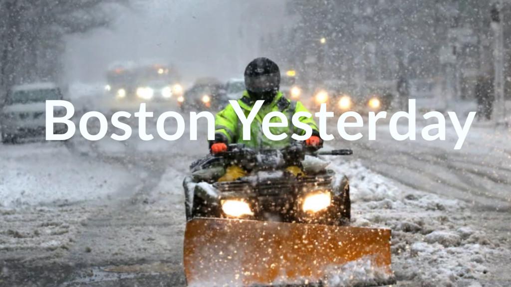 Boosting Team Productivity w/ CLIs Boston Yeste...