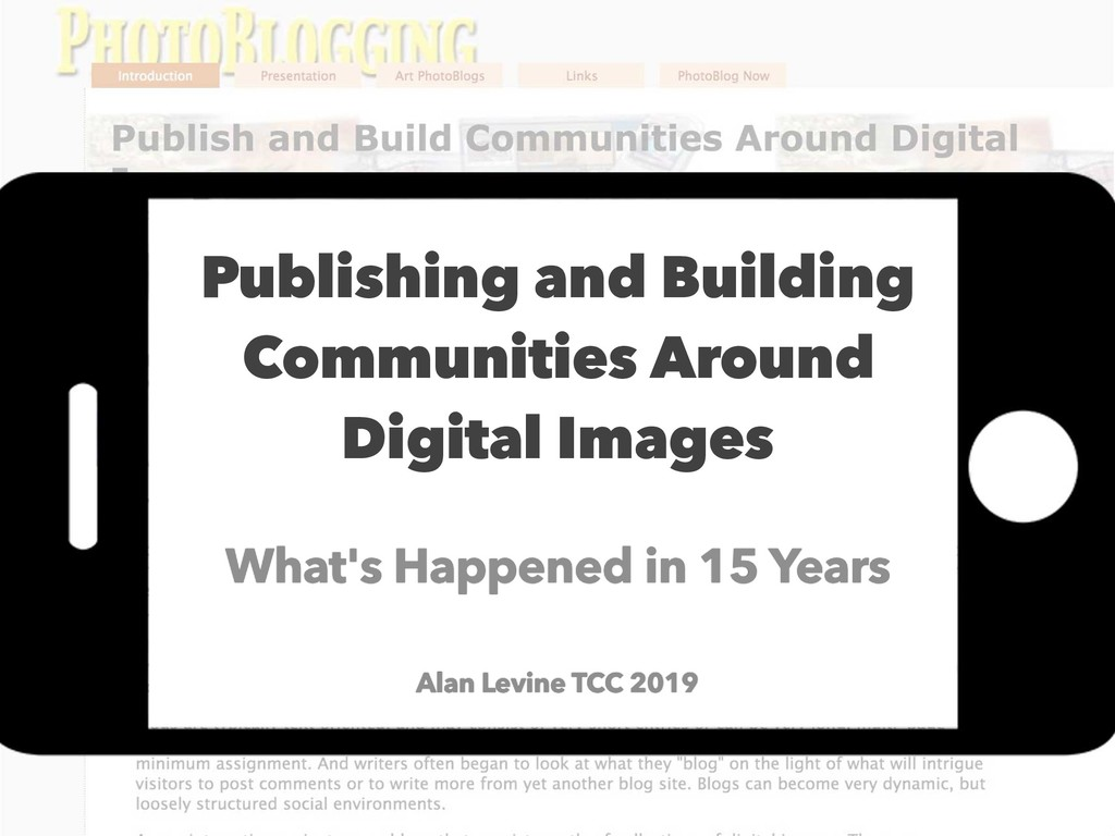 Publishing and Building Communities Around Digi...