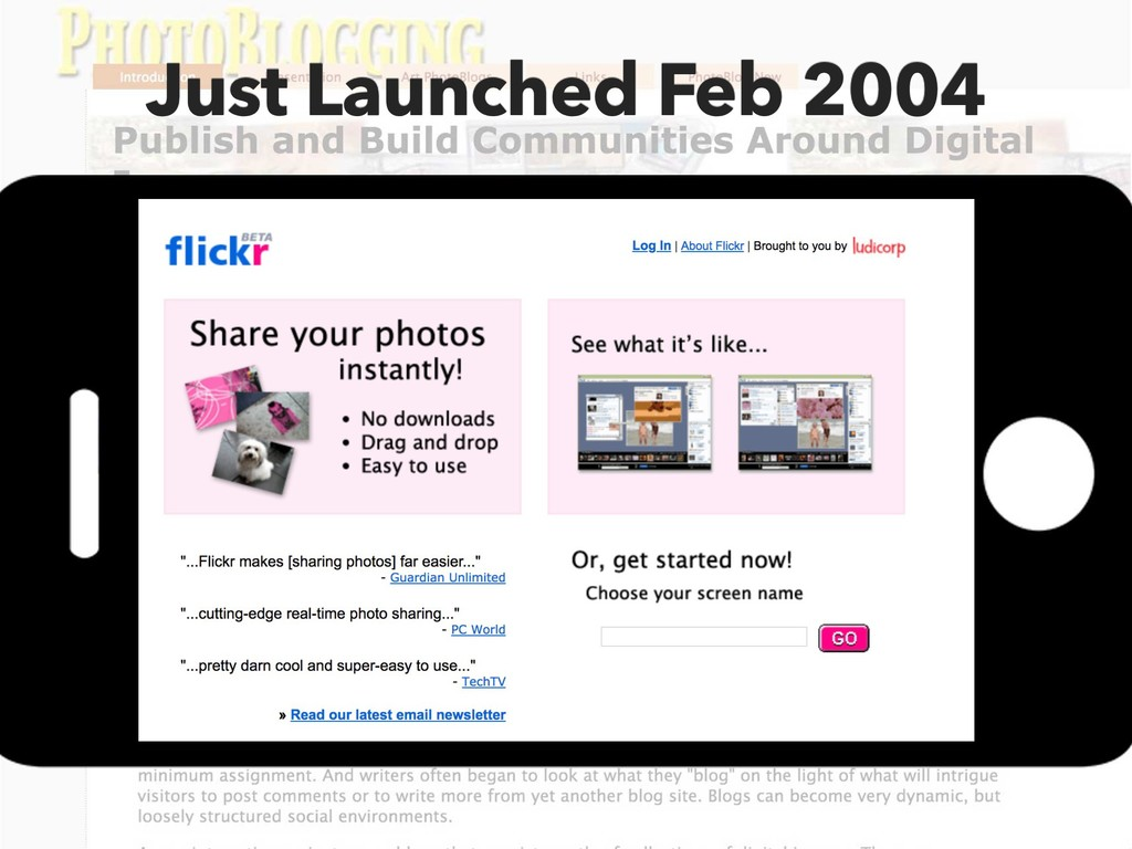 Just Launched Feb 2004