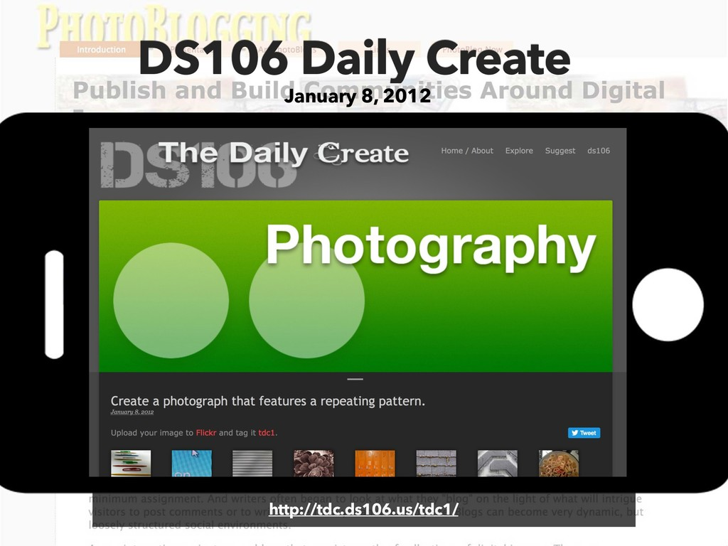 DS106 Daily Create January 8, 2012 http://tdc.d...