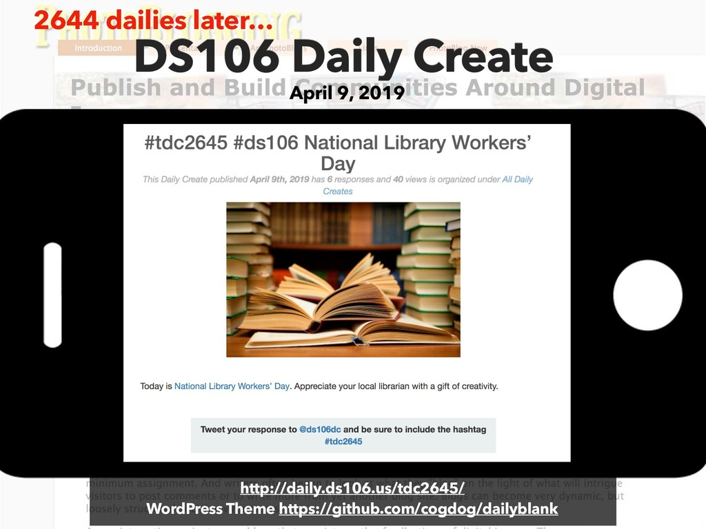 DS106 Daily Create April 9, 2019 http://daily.d...