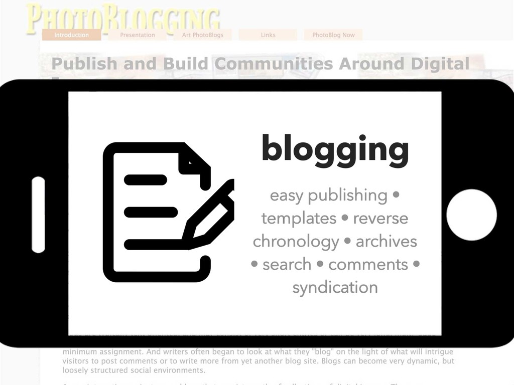 blogging easy publishing • templates • reverse ...
