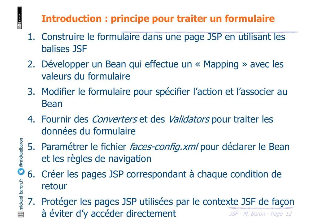 12 JSF - M. Baron - Page mickael-baron.fr @mick...
