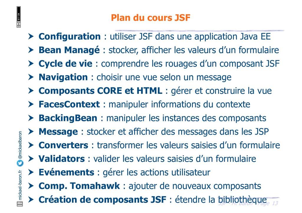 13 JSF - M. Baron - Page mickael-baron.fr @mick...