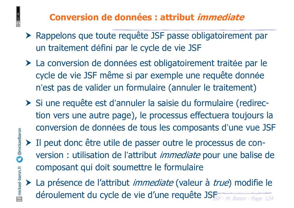 124 JSF - M. Baron - Page mickael-baron.fr @mic...