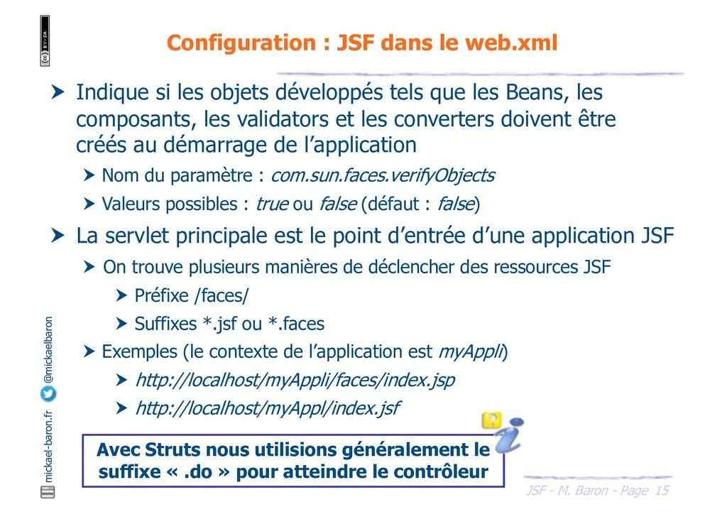 15 JSF - M. Baron - Page mickael-baron.fr @mick...