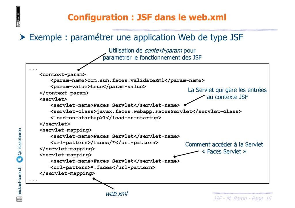 16 JSF - M. Baron - Page mickael-baron.fr @mick...