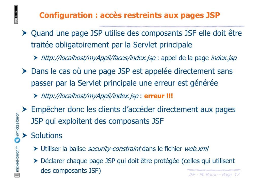 17 JSF - M. Baron - Page mickael-baron.fr @mick...