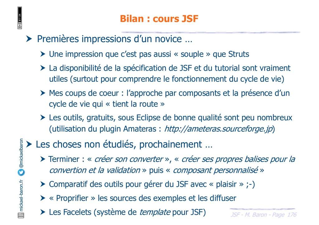 176 JSF - M. Baron - Page mickael-baron.fr @mic...