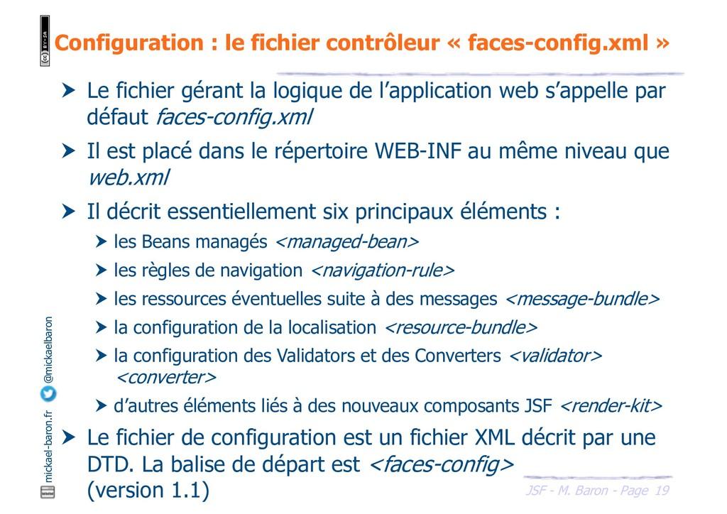 19 JSF - M. Baron - Page mickael-baron.fr @mick...