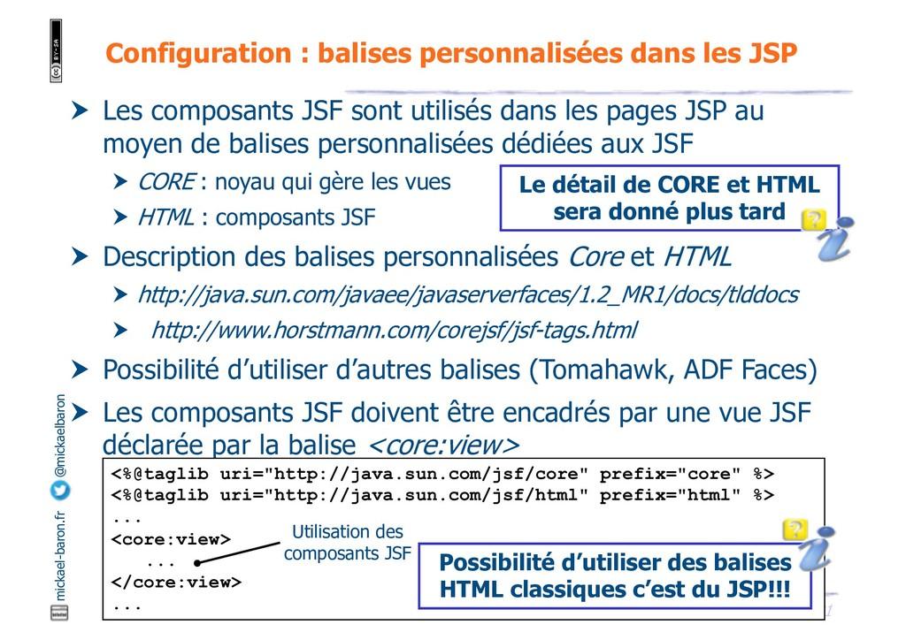 21 JSF - M. Baron - Page mickael-baron.fr @mick...
