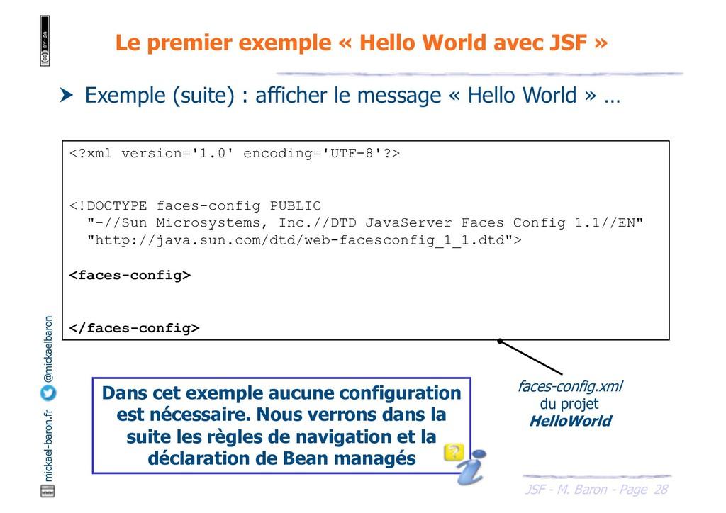28 JSF - M. Baron - Page mickael-baron.fr @mick...