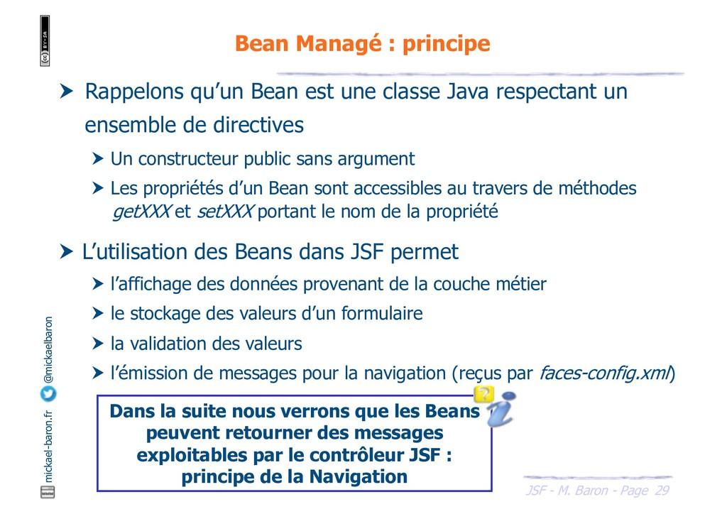 29 JSF - M. Baron - Page mickael-baron.fr @mick...