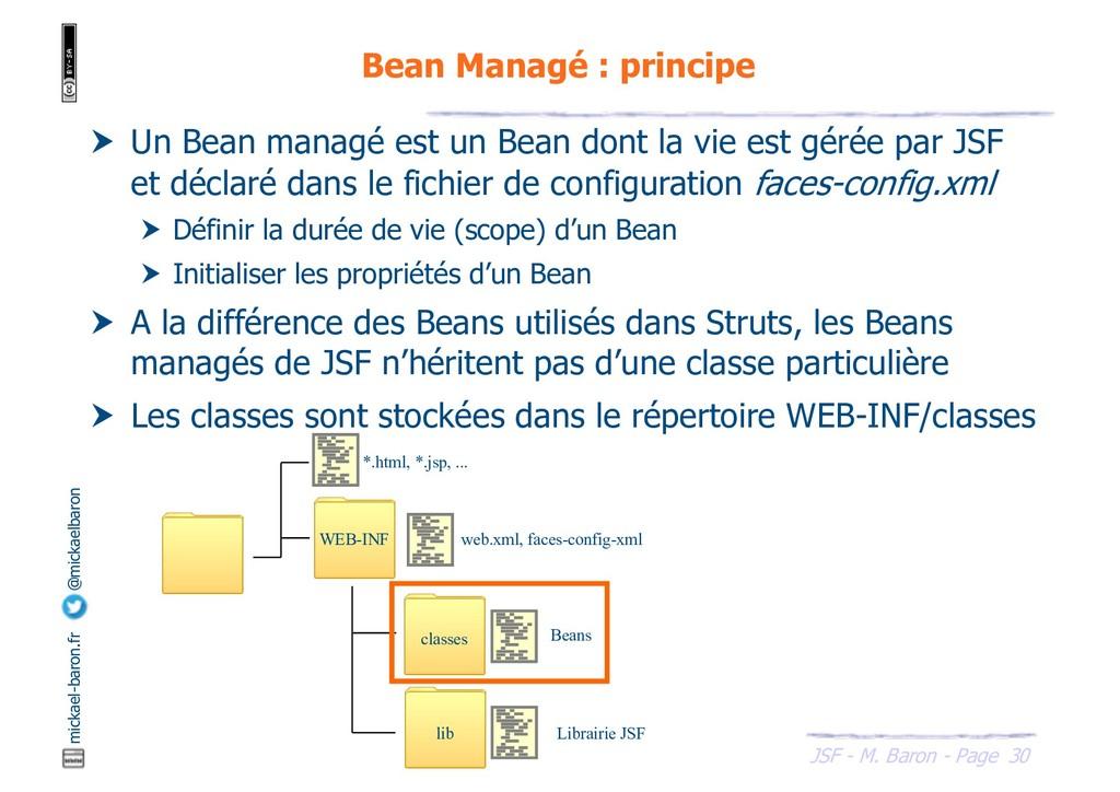 30 JSF - M. Baron - Page mickael-baron.fr @mick...