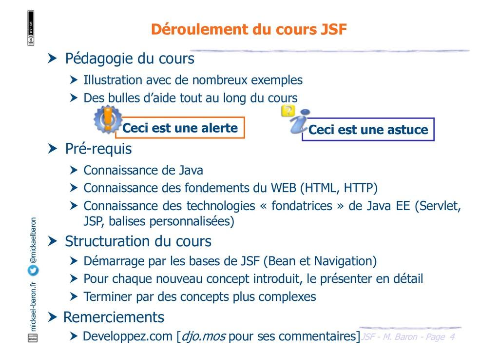 4 JSF - M. Baron - Page mickael-baron.fr @micka...