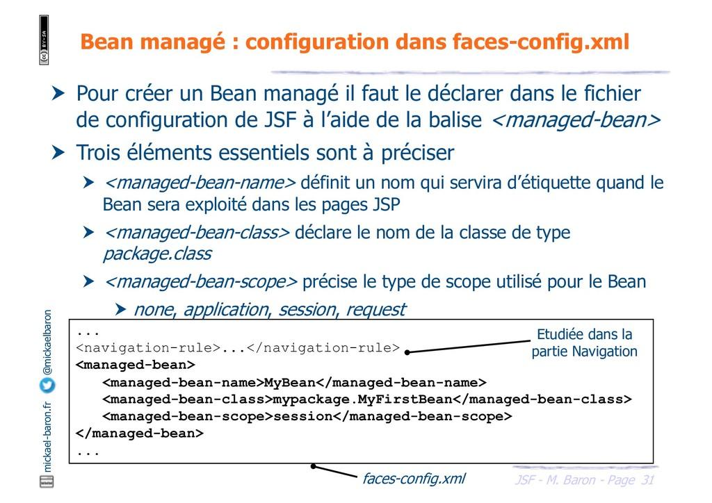 31 JSF - M. Baron - Page mickael-baron.fr @mick...