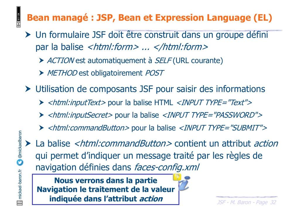32 JSF - M. Baron - Page mickael-baron.fr @mick...