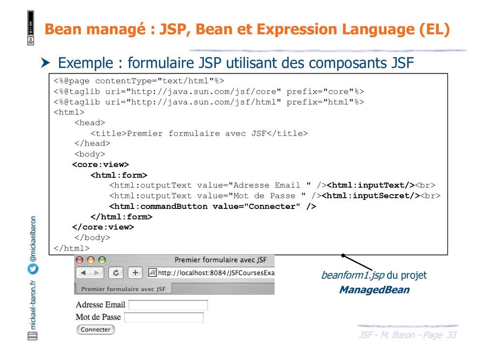 33 JSF - M. Baron - Page mickael-baron.fr @mick...