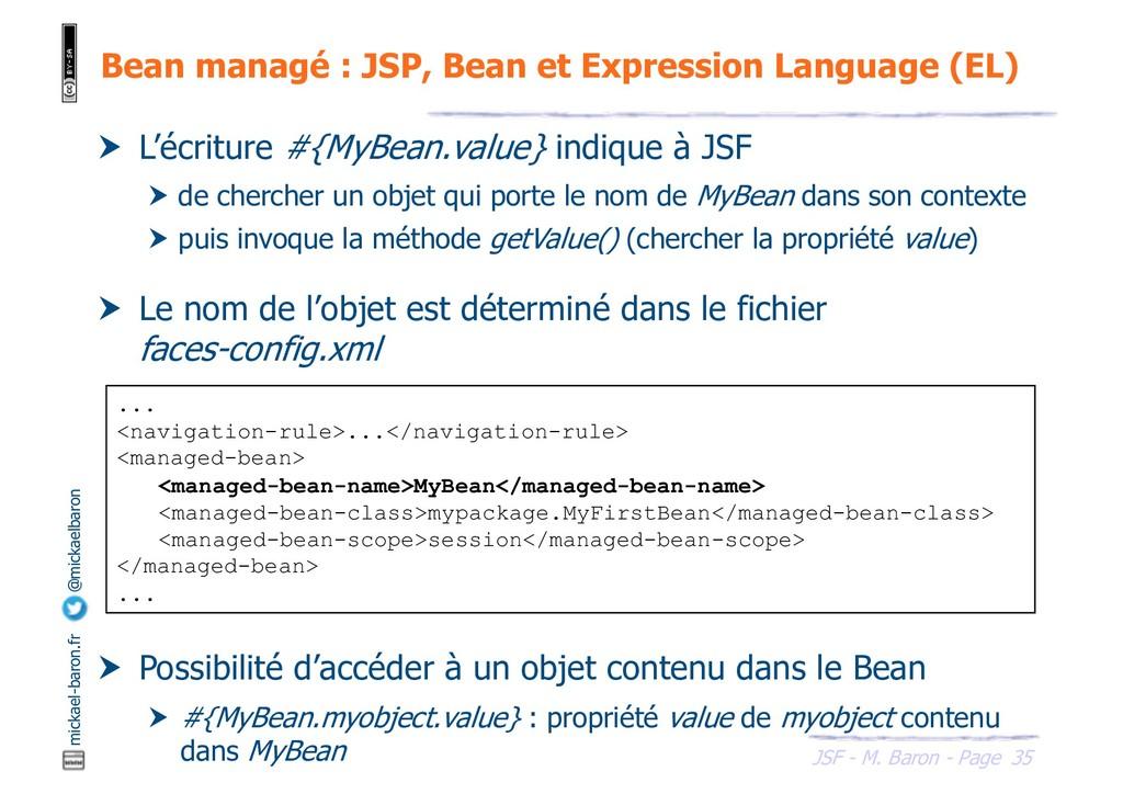 35 JSF - M. Baron - Page mickael-baron.fr @mick...