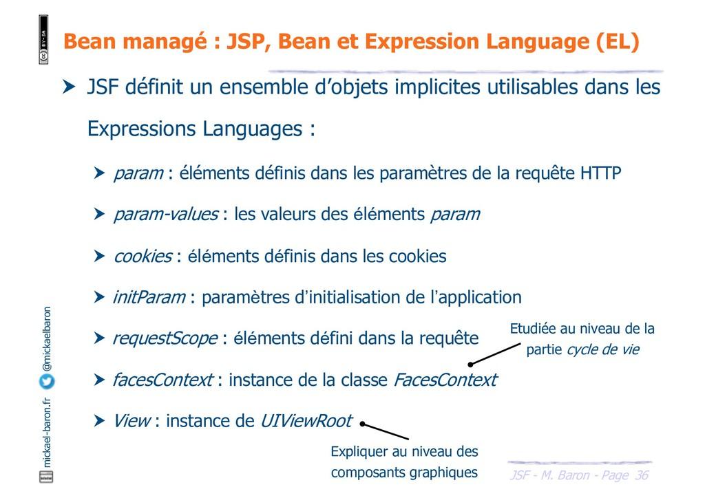 36 JSF - M. Baron - Page mickael-baron.fr @mick...