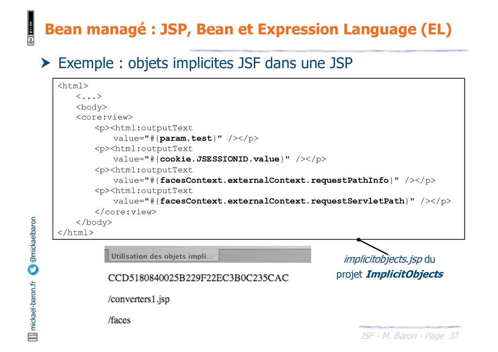 37 JSF - M. Baron - Page mickael-baron.fr @mick...