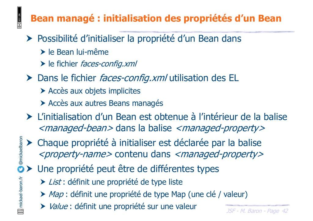 42 JSF - M. Baron - Page mickael-baron.fr @mick...