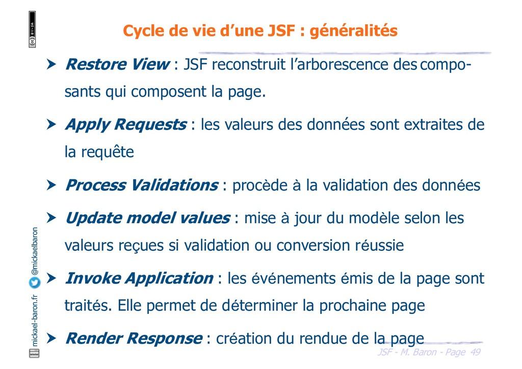49 JSF - M. Baron - Page mickael-baron.fr @mick...