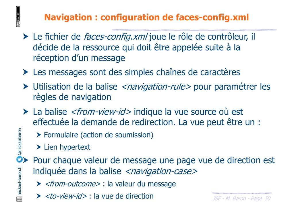 50 JSF - M. Baron - Page mickael-baron.fr @mick...