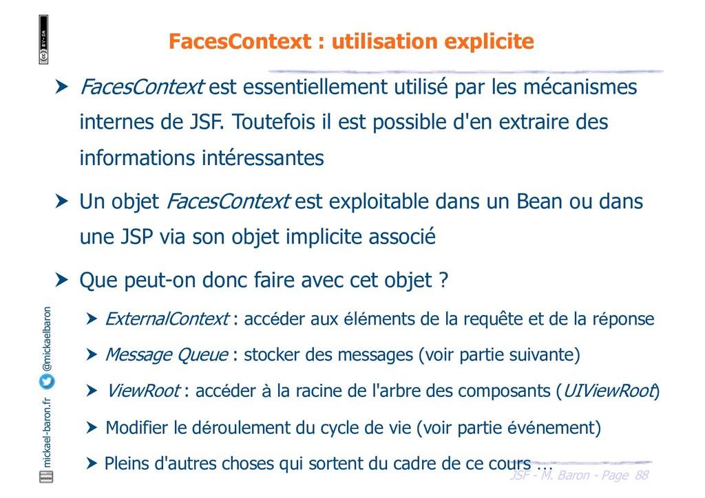 88 JSF - M. Baron - Page mickael-baron.fr @mick...