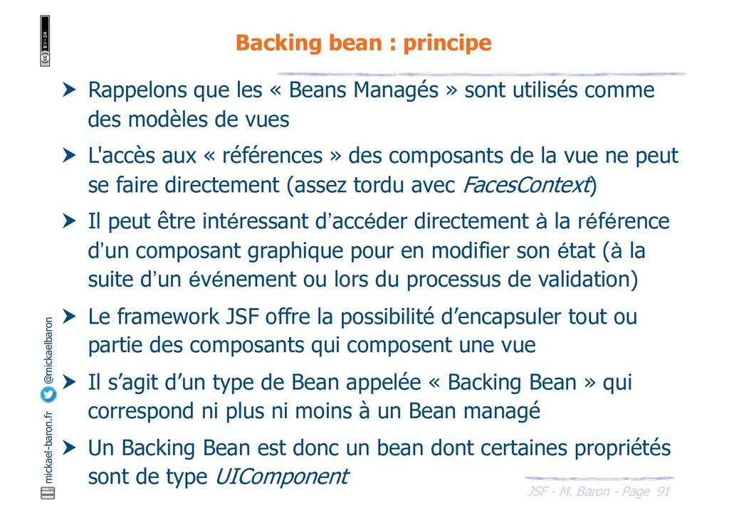 91 JSF - M. Baron - Page mickael-baron.fr @mick...
