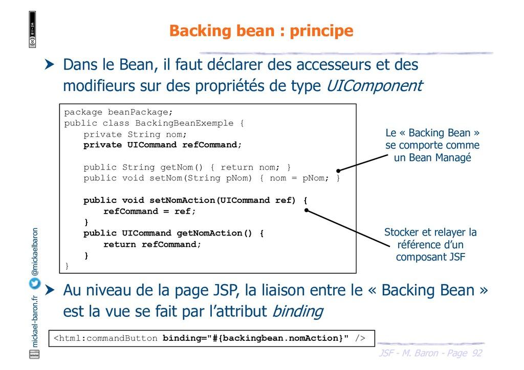 92 JSF - M. Baron - Page mickael-baron.fr @mick...