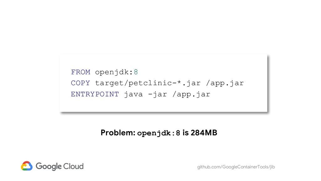 github.com/GoogleContainerTools/jib Problem: op...